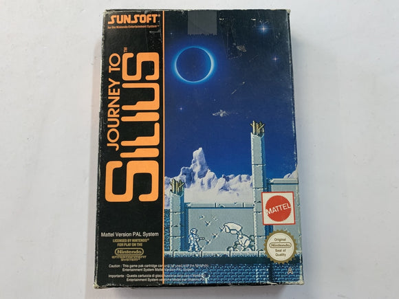 Journey To Silius In Original Box