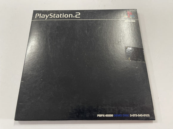 Official Playstation 2 PS2 Demo Disc Complete In Original Slip