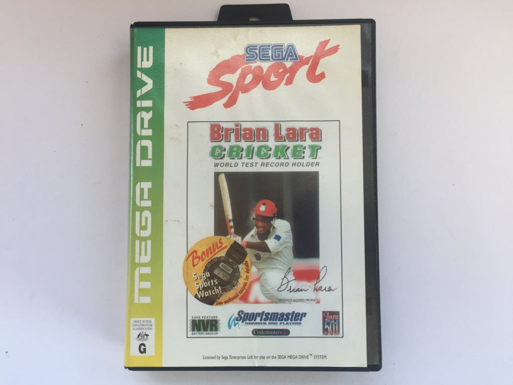 Brian Lara Cricket In Original Case