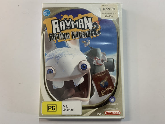 Rayman Raving Rabbids 2 Complete In Original Case