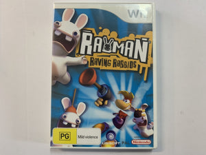 Rayman Raving Rabbids Complete In Original Case
