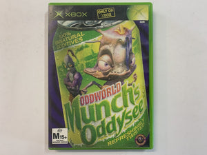 Oddworld Munch's Oddysee Complete In Original Case