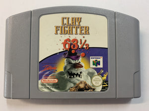 Clay Fighter 63 1/3 Cartridge