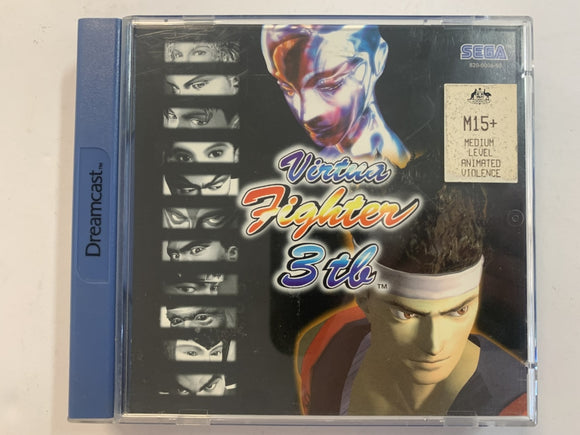 Virtua Fighter 3th Complete In Original Case