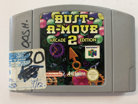 Bust A Move 2 Arcade Edition Cartridge