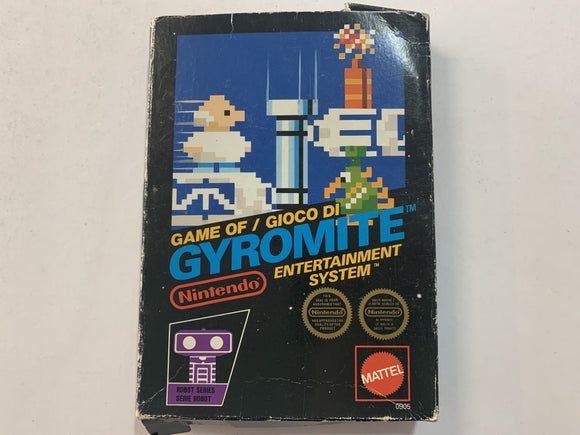 Gyromite Complete In Box