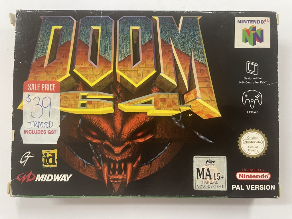 Doom 64 Complete In Box