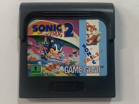 Sonic The Hedgehog 2 Cartridge The Game Experts
