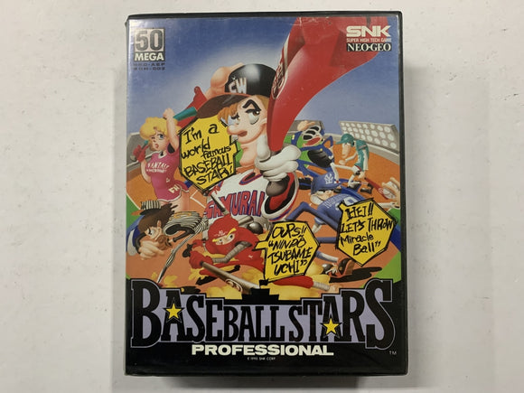 Baseball Stars Neo Geo AES Complete In Original Case