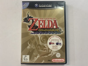 The Legend Of Zelda: Wind Waker Limited Edition Complete In Original Case