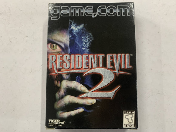 Resident Evil 2 for Game.Com Complete In Box