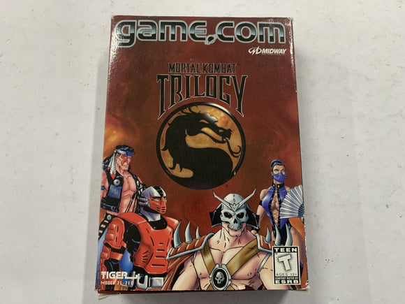 Mortal Kombat Trilogy for Game.Com Complete In Box