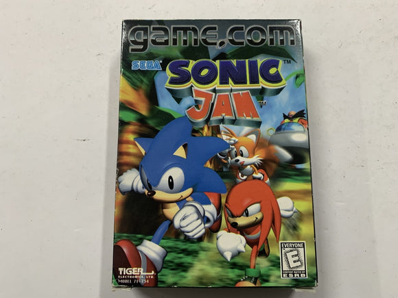 Sonic Jam for Game.Com Complete In Box