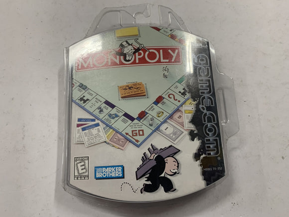 Monopoly for Game.Com Complete In Original Case