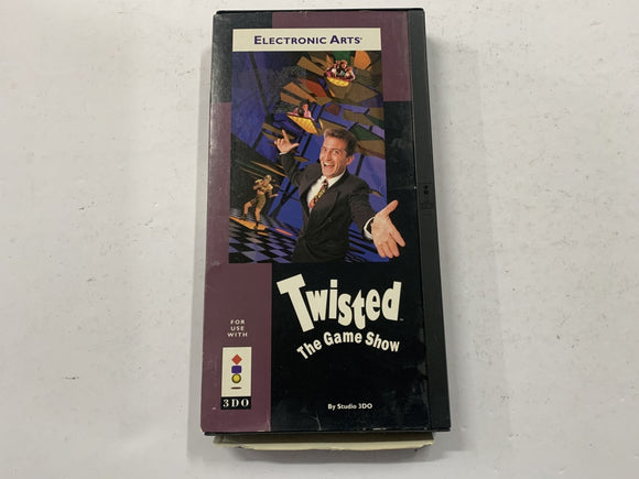 Twisted The Game Show for Panasonic 3DO Complete In Box