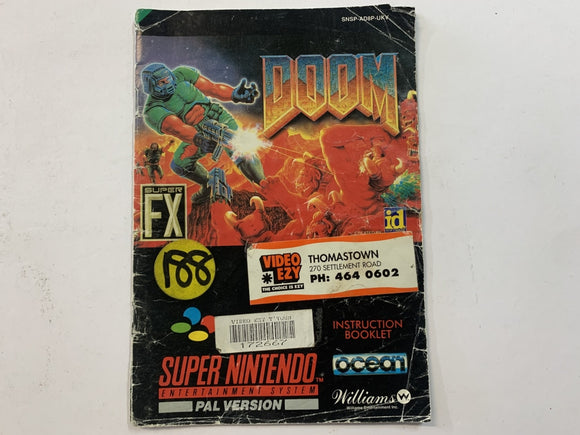 Doom Game Manual
