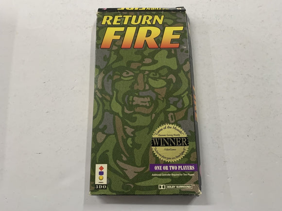 Return Fire for Panasonic 3DO Complete In Box