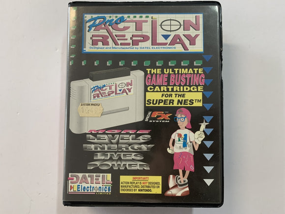 Action Replay Complete In Original Case
