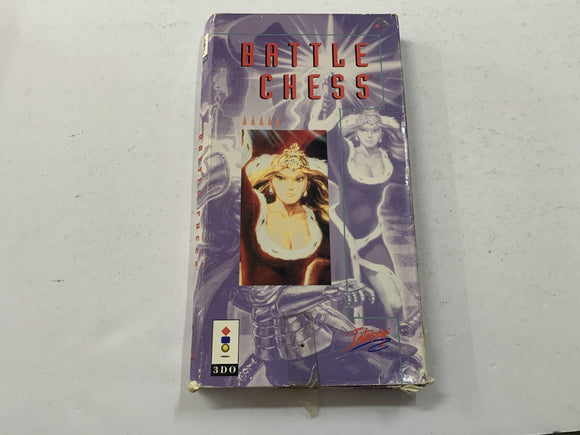 Battle For Chess for Panasonic 3DO Complete In Box