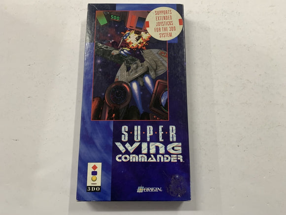Super Wing Commander for Panasonic 3DO Complete In Box