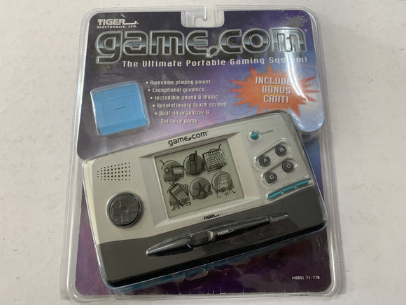 Tiger Electronics Game.Com Console Complete In Original Blister Packaging