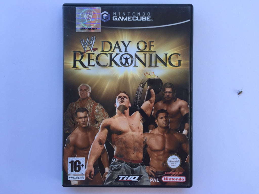 WWE Day Of Reckoning Complete In Original Case