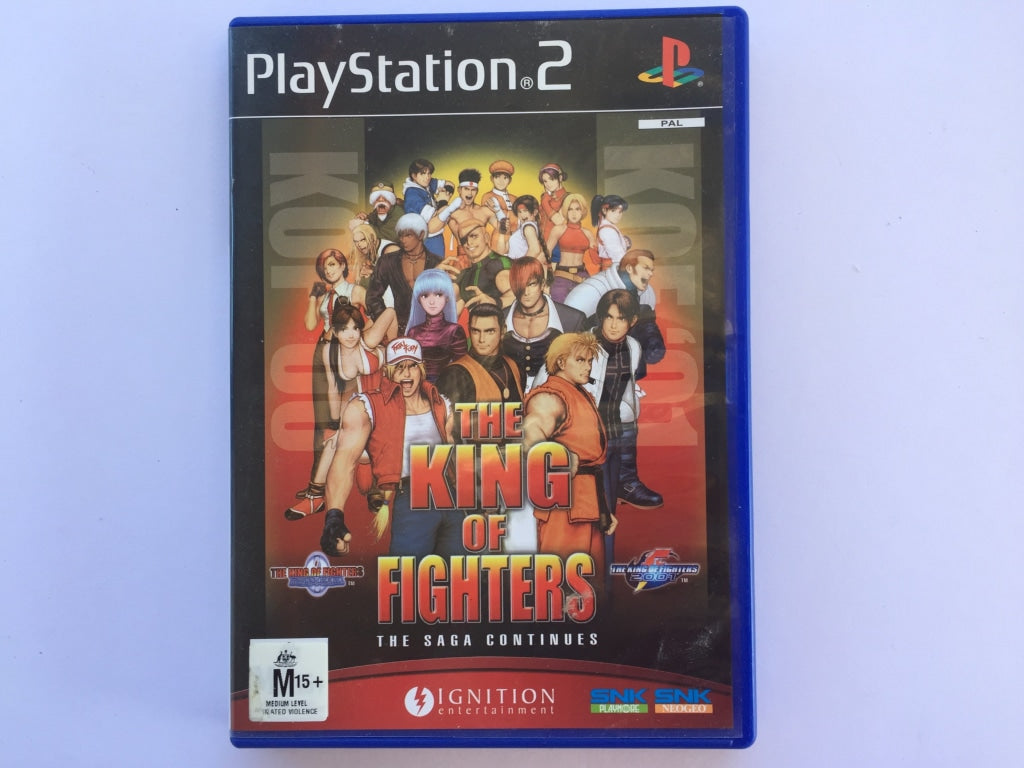 The King Of Fighters The Saga Continues Complete In Original Case