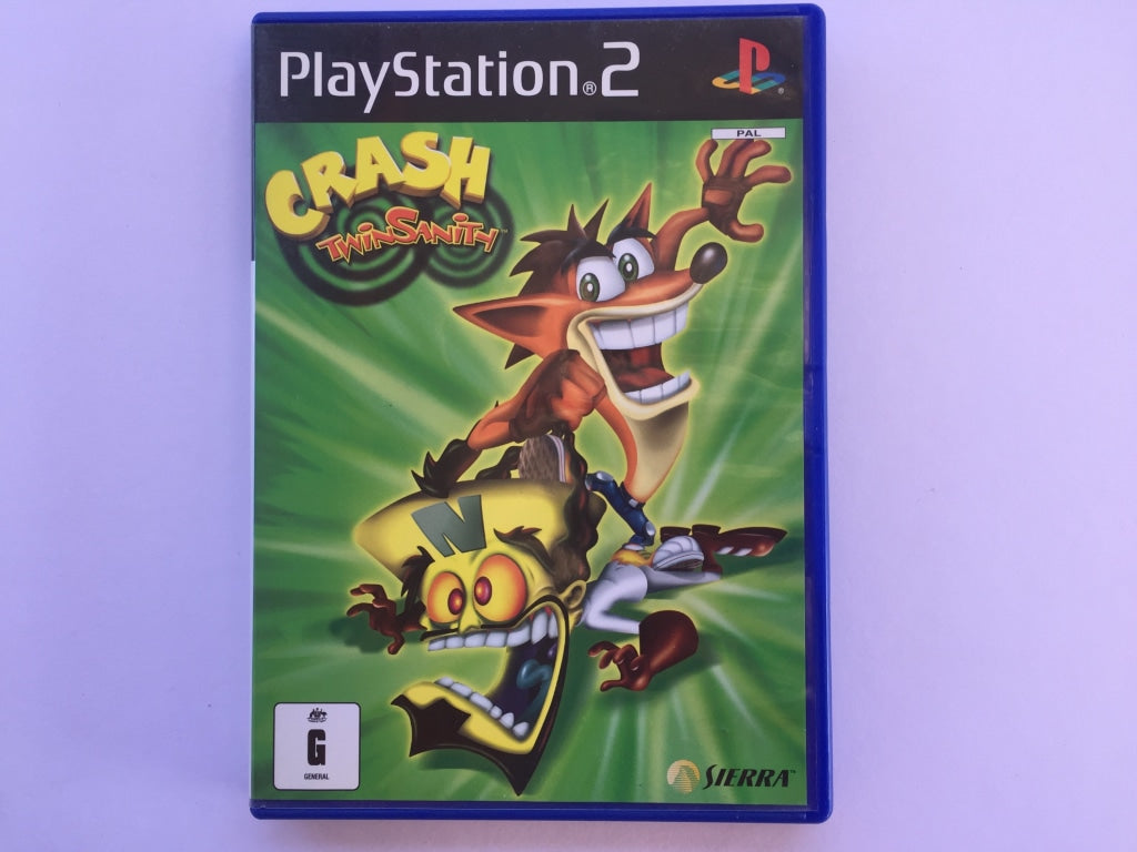 Crash Twinsanity Complete In Original Case