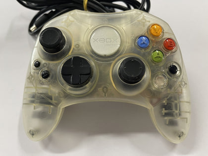 Genuine Limited Edition Official Microsoft XBOX Crystal Clear Controller