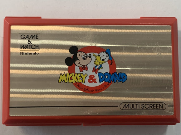 Mickey & Donald Multi Screen Game & Watch