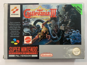Super Castlevania IV Complete In Box