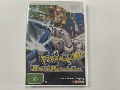 Pokemon Battle Revolution Complete In Original Case