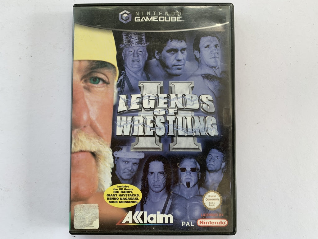 Legends Of Wrestling 2 Complete In Original Case