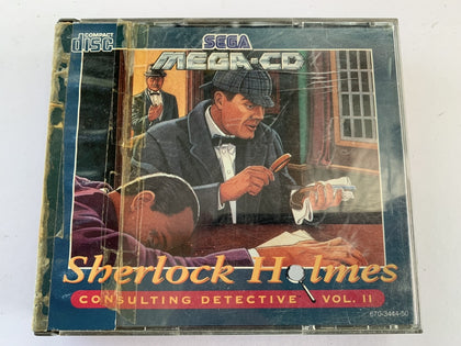 Sherlock Holmes Consulting Detective Vol 2 Complete In Original Case for Sega Mega CD