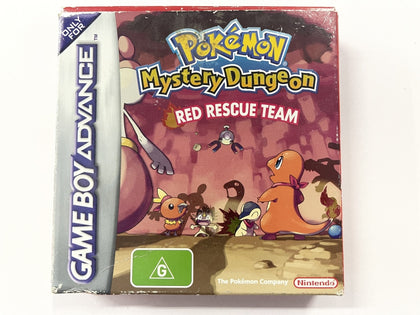 Pokemon Mystery Dungeon Red Rescue Team Complete In Box