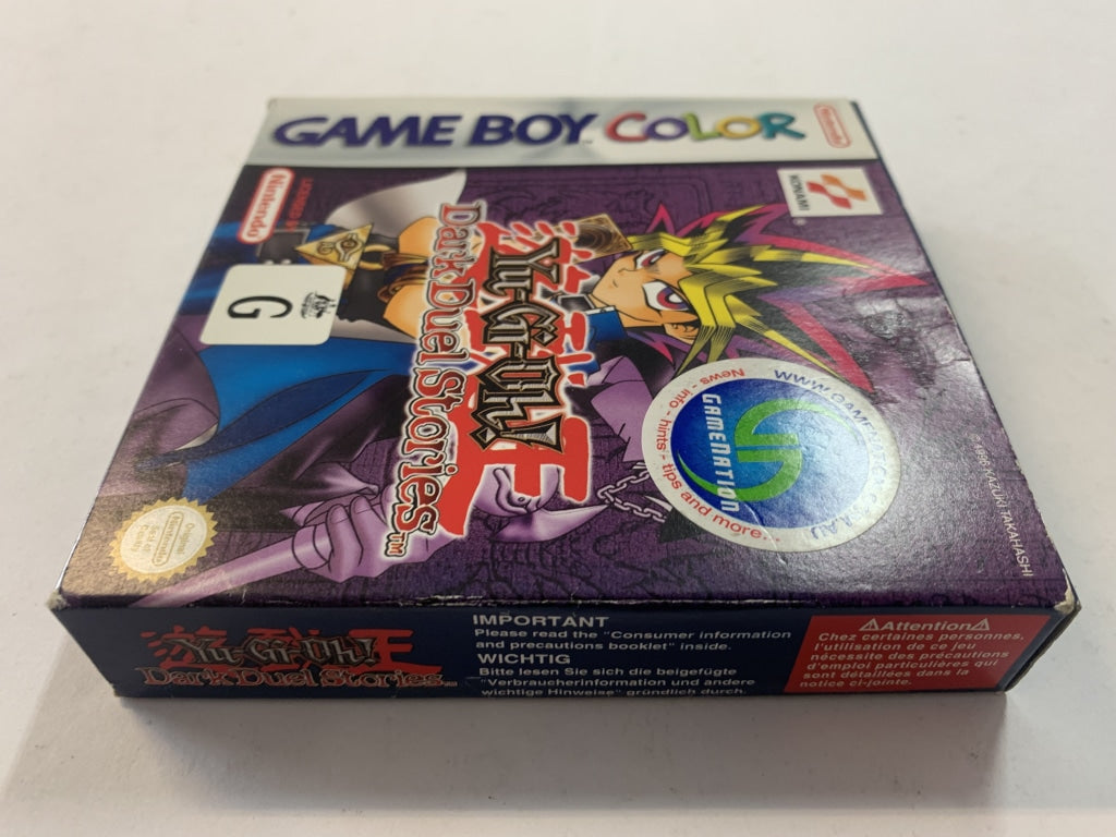 Yu-Gi-Oh Dark Duel Stories Complete In Box