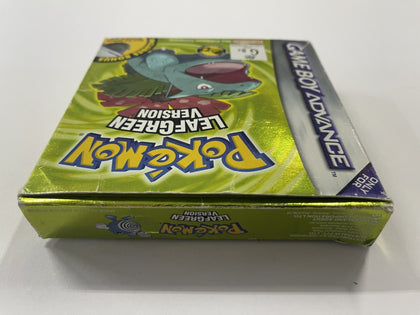 Pokemon Leaf Green Complete In Box