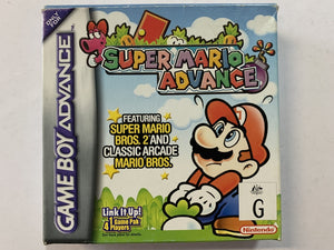 Super Mario Advance Complete In Box