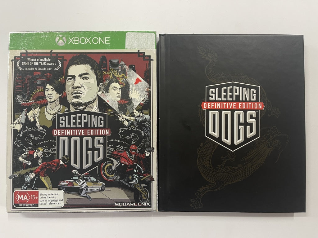 Sleeping Dogs Definite Edition Complete In Original Case
