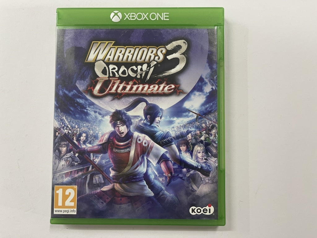 Warriors 3 Orochi Ultimate Complete In Original Case