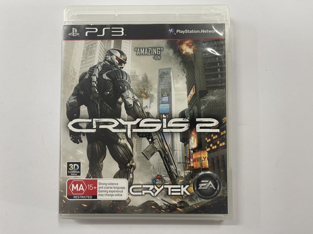 Crysis 2 Complete In Original Case