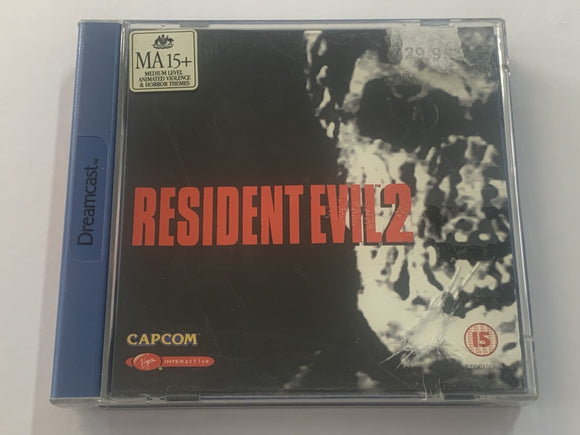Resident Evil 2 Complete In Original Case