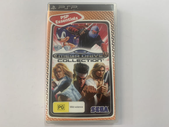 Sega Mega Drive Collection Complete In Original Case