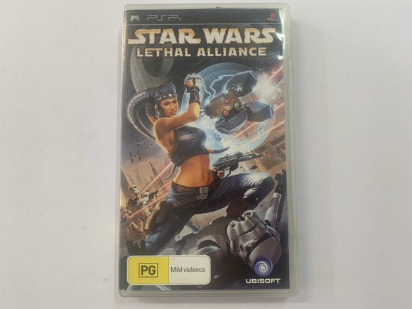 Star Wars Lethal Alliance Complete In Original Case