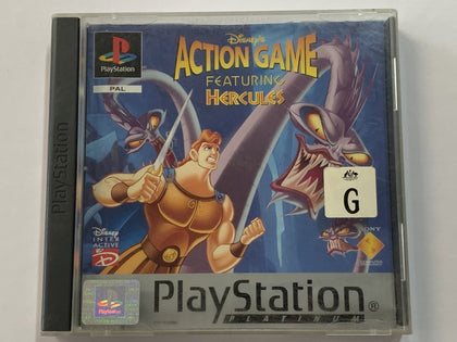 Disney's Action Game Featuring Hercules Complete In Original Case