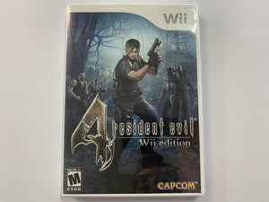Resident Evil 4 NTSC Complete In Original Case