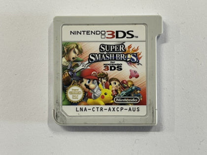Super Smash Bros 3DS Cartridge