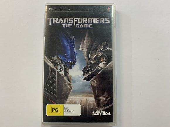 Transformers The Game Complete In Original Case