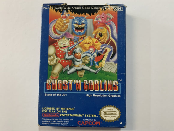 Ghost N Goblins In Original Box