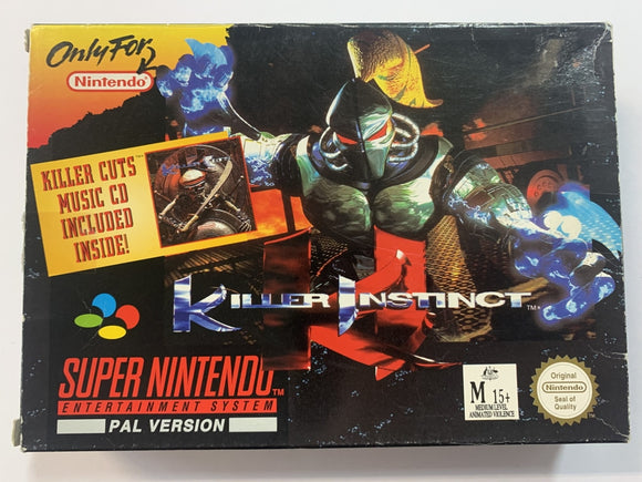 Killer Instinct Complete in Box
